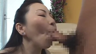 japanese milf blowjob cum to mouth