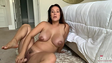 Eva Lovia - POV dildo bj and Masturbating