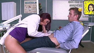 incel boy gets to fuck doctor big tits