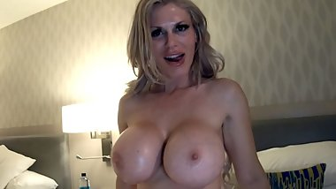 Hot MILF With Huge Tits Is Having some Hotel Fun With A Stranger!