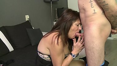 Stepmom fucks stepson