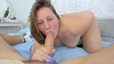 FASIAL. Sloppy deepthroat POV