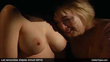 Fabienne Babe, Julie Bremond & Kate Moran topless and sexy