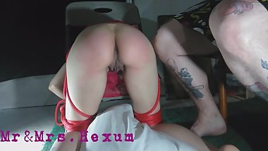 Bad Girl Gets Tied To A Chair & Spanked Part 2