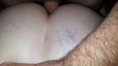 Northern Ireland BBW takes cock