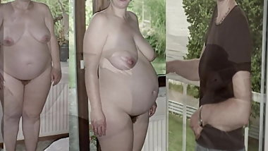 Danish amateur Couple. Getting pregnant. Dressed undressed
