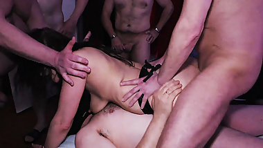 step mothers first double anal orgy