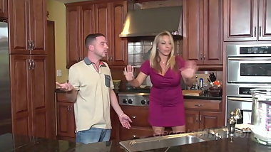 Bad Mommie Amber Bach Gets Gets Some Deep Dicking