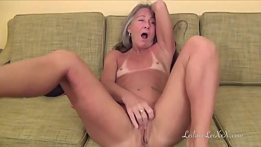 Milf Masturbates After Yoga