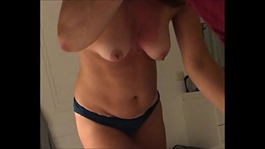 Unaware Wife - Tits and panties