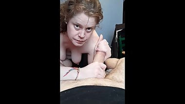 Horny milf can't resist a big cock