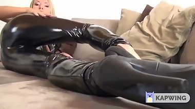 Sexy Latex Girls Bdsm Fire