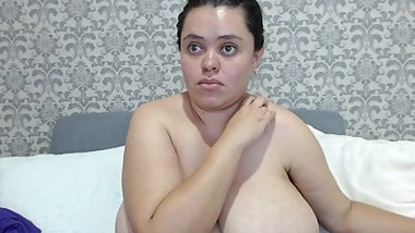 Latino with saggy tits