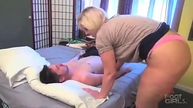 Carey Riley Fart Wake Up Call To Step Son