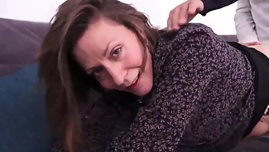 French MILF Fucked in ALL HOLES