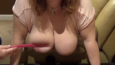 Huge Hanging Tits Bounce in SLOW MOTION