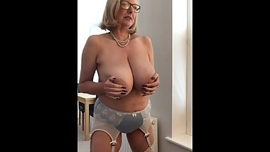 AnnabelТs new satin bra and panties