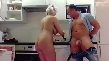 Angel Wicky Steak & Blowjob Event at SecretFriends full video