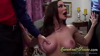 Kendra Lust gets gangbanged for her cuckold husband