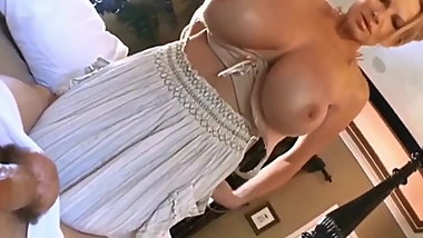 Sexy MUM Wakes Me up with her HUGE BOOBS