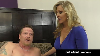 FemDom Milf Ms. Julia Ann Tells You When To Cum! JOI!
