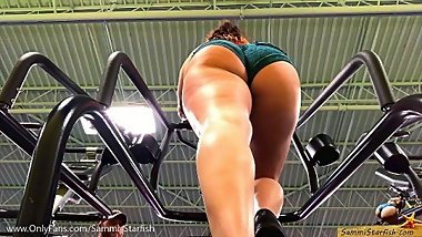 Pawg Ass - Gym Stair Climber