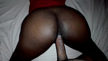 Ebony milf Stepmom - cumming and creaming all over his big dick